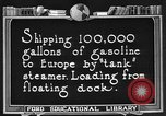 Image of oil tanker United States USA, 1925, second 8 stock footage video 65675050487