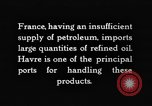 Image of imported oil Paris France, 1926, second 8 stock footage video 65675050502