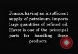 Image of imported oil Paris France, 1926, second 10 stock footage video 65675050502