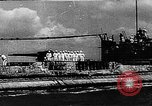 Image of Japanese submarine I-30 Lorient France, 1942, second 1 stock footage video 65675050521