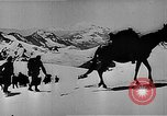Image of German mountain troopers in operating in snow during World War 2 Germany, 1941, second 11 stock footage video 65675050523