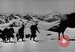 Image of German mountain troopers in operating in snow during World War 2 Germany, 1941, second 12 stock footage video 65675050523