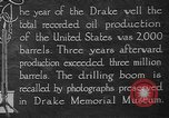 Image of drilling of oil United States USA, 1923, second 7 stock footage video 65675050524