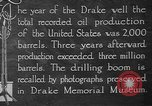 Image of drilling of oil United States USA, 1923, second 8 stock footage video 65675050524