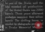 Image of drilling of oil United States USA, 1923, second 9 stock footage video 65675050524