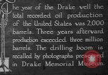 Image of drilling of oil United States USA, 1923, second 11 stock footage video 65675050524
