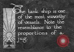 Image of oil ship tank United States USA, 1923, second 2 stock footage video 65675050531