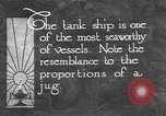 Image of oil ship tank United States USA, 1923, second 10 stock footage video 65675050531