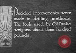 Image of advanced drilling methods United States USA, 1923, second 11 stock footage video 65675050532