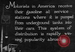 Image of service station United States USA, 1923, second 12 stock footage video 65675050538