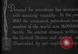 Image of consumption of petroleum United States USA, 1923, second 3 stock footage video 65675050541