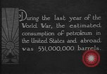 Image of consumption of petroleum United States USA, 1923, second 4 stock footage video 65675050542