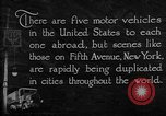 Image of motor vehicles New York City USA, 1923, second 11 stock footage video 65675050545