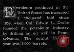 Image of drilling of oil United States USA, 1923, second 11 stock footage video 65675050546