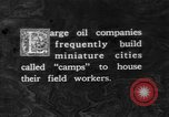 Image of oil camp United States USA, 1923, second 1 stock footage video 65675050550