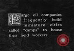 Image of oil camp United States USA, 1923, second 4 stock footage video 65675050550