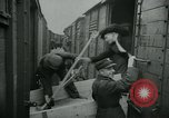 Image of freight trains Russia, 1940, second 8 stock footage video 65675050563