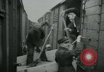 Image of freight trains Russia, 1940, second 9 stock footage video 65675050563