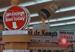 Image of 1950s supermarket in America Yonkers New York USA, 1958, second 4 stock footage video 65675050577