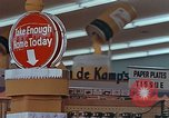 Image of 1950s supermarket in America Yonkers New York USA, 1958, second 5 stock footage video 65675050577