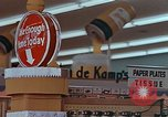 Image of 1950s supermarket in America Yonkers New York USA, 1958, second 7 stock footage video 65675050577