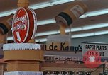 Image of 1950s supermarket in America Yonkers New York USA, 1958, second 8 stock footage video 65675050577