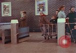 Image of Grand Union supermarket 1950s Yonkers New York USA, 1958, second 5 stock footage video 65675050578
