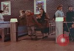 Image of Grand Union supermarket 1950s Yonkers New York USA, 1958, second 6 stock footage video 65675050578