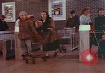 Image of Grand Union supermarket 1950s Yonkers New York USA, 1958, second 7 stock footage video 65675050578