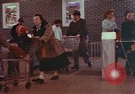 Image of Grand Union supermarket 1950s Yonkers New York USA, 1958, second 8 stock footage video 65675050578