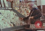 Image of 1950s supermarket shoppers Yonkers New York USA, 1958, second 3 stock footage video 65675050579