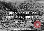 Image of oil wells Iran, 1939, second 2 stock footage video 65675050589