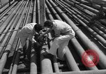 Image of oil pumping station Iran, 1939, second 8 stock footage video 65675050593