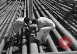 Image of oil pumping station Iran, 1939, second 9 stock footage video 65675050593