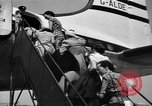 Image of boarding of aircraft Iran, 1939, second 7 stock footage video 65675050594