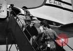 Image of boarding of aircraft Iran, 1939, second 8 stock footage video 65675050594
