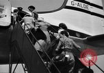 Image of boarding of aircraft Iran, 1939, second 10 stock footage video 65675050594