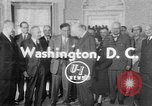 Image of President Eisenhower Washington DC USA, 1954, second 1 stock footage video 65675050605