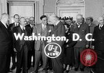 Image of President Eisenhower Washington DC USA, 1954, second 2 stock footage video 65675050605