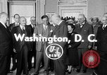 Image of President Eisenhower Washington DC USA, 1954, second 3 stock footage video 65675050605