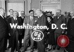 Image of President Eisenhower Washington DC USA, 1954, second 4 stock footage video 65675050605