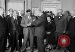 Image of President Eisenhower Washington DC USA, 1954, second 5 stock footage video 65675050605