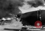 Image of oil fire Rotterdam Netherlands, 1954, second 5 stock footage video 65675050606
