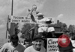Image of Cleveland Indians baseball team in Spring training Tucson Arizona USA, 1954, second 11 stock footage video 65675050607
