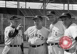 Image of New York Giants Spring training Phoenix Arizona USA, 1954, second 7 stock footage video 65675050608