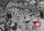 Image of cycle race Italy, 1954, second 5 stock footage video 65675050609