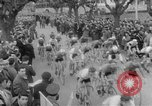 Image of cycle race Italy, 1954, second 6 stock footage video 65675050609