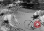 Image of cycle race Italy, 1954, second 7 stock footage video 65675050609