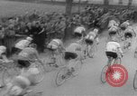 Image of cycle race Italy, 1954, second 8 stock footage video 65675050609