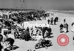 Image of motorcycle race Daytona Beach Florida USA, 1954, second 3 stock footage video 65675050610